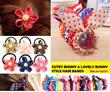 2015 S/S Korean Style Cutest Bunny Hair Bands Lovely Flower Hair Bands