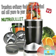 Nutri Bullet Food Mixer Machine*220V600W*Applicable to Singapore.