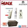 |ETIENNE AIGNER| X limited  Eau de Toilette + Perfume Body emulsion + Lipbalm |free Cosmetic bag|