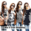 ★zero profit/★2014 new design shirt/Ice silk / chiffon shirt / T-shirt / dress /