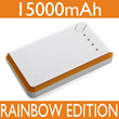 Powerbank Rainbow Edition 15000mAh|Garansi 2 Minggu Unit|4 Colors