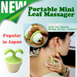 ★Relieve Neck Pain JAPAN HIT Massager★Portable and Handy★For Office Desk Decor★Mini Leaf Body Massager★Gift★Instant Muscle Relief★Body Roller★Must have inside Bag★Shoulder and Neck massager★