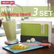 [NEOFLAM] Antibacterial Cutting Board Set /Kitchen cook/steel chopping board / Kitchenware Cookware