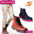 [FREE SHIPPING JABODETABEK]SYNTHETIC LEATHER/CANVAS/DENIM**LOW BOOTS/HIGH BOOTS**SEPATU BOOTS WANITA**HIGH QUALITY MATERIAL