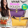 VIYAR Hibiscus Beauty Pouch ★ Tas Mini / Dompet/ Pouch / Beauty Case / Mini Sling Bag ★