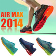Hong Kong 100% authentic comfortable and easy to Air Max 2014 men/woman shoes running shoes free shipping