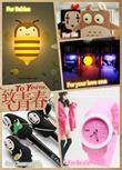 Lovely Gift Idea~Jelly Watch/Anime Gel Pen/Anime Concept Diary/Love Jar/Cute DIY ELF Wall Light