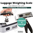 Premium Electronic Digital LCD Luggage Scale Digital Luggage Scale including Free Battery/ Luggage Weighing Scale for travel