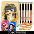 Best Selling Eyeliner KIT ★ [TOSOWOONG] Season1/2/3 Waterproof Eyeliner 5 Types Set / Eye Makeup / Set