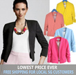 FREE SHIPPING - LIMITED TIME OFFER BUTTONLESS BLAZER / JACKET 8530