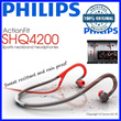 [100% ORIGINAL]Philips Sports neck band headphones SHQ4200 ActionFit