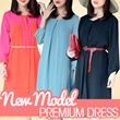 !!NEW MODEL+RESTOCK!!LIMITED**PREMIUM DRESS-AUTHENTIC/ASLI 100%**Tersedia 5 model**
