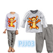 ★March New Arrival★Kid pajamas for boys and girls/sweet and cute design