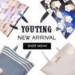 [youting-Fashion][Christmas]GWP e Mook classic tote handbagwalletmake up cosmetic pouch shoulder bag backpackmirroraccessory hair tie