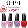 ONE TIME OFFER !!! [1 + 1] OPI Nail Polish. Best Seller Popular Colors - Nude Red Pink Purple and More! [100% AUTHENTIC]
