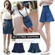 [buy 2 free shipping]2014 Summer Fashion Lady Jean Skirts/High waist Denim Skirts/Tight A-line Skirts/Fishtail Skirts/Ruffle skirt/Medium Length/Jeans Collection/Size S-XL