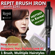 Korea No.1 Trend 2014/ 2015- Repit brush iron / hair curler / For salon use
