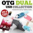 OTG Dual USB Collection tersedia 4GB/8GB/16GB_Ready stock di Jakarta_Dijamin kualitas langsung dari Korea!
