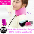 {Christmas Gift}*QXPRESS FREE*Long-Lasting Herbal Lavender  Neck Support  /Neck SPA/USB HeatingHot Dressing