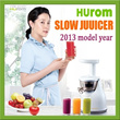 Free Shipping [HUROM]★korea HUROM SLOW JUUICER 2013 model year HC-WWF08