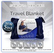Deluxe Travel Blanket(5 IN 1 Function)
