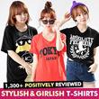 ★Free shipping!!!★KOREA MEGA HIT 88% OFF★ [Top Shop] women fashion women clothing Plus Size T-Shirts Over 100 Style Customer Satisfaction CNY