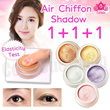 [Lioele]★不★ Air Chiffon Shadow ★1+1+1★ (Floral White/Cream Pink/Violet/Sandy Gold/Bronze)