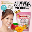 (Highly Effective)POPULAR Queen and Princess SLIMMING COLLAGEN 20000 mg with Irwin mango flavour 250g!
