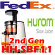 Second Generation New Hurom HH-SBF11 Slow Juicer Extractor Fruit Vegetable ★ Upgraded and Included N