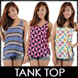 ★Tank Tops★ SG Seller Ladies Trendy Fashionable Tank Tops Sleeveless Tops. Best Price! Chinese New Year CNY Clothes. Fast Delivery!