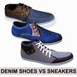 [BEST PRICE] DENIM VS SNEAKERS SHOES_4 TYPE AVAILABLE_SO MANY SIZE