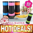 NEW! eggmaster Rollie Egg Tools Egg Boiler Egg Cook Cup Egg Master Cooking System Automatic Egg