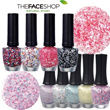 【THE FACESHOP】★New!! ★Lovely Mix Yogurt Nails 5Color Type / Colored Paper Nails / GEL TOUCH NAILS