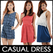 ★Cotton Dress★ SG Seller Ladies Trendy Fashionable Casual Cotton Dress/Skirts/Romper/Jumper. Best Price! Chinese New Year CNY Clothes. Fast Delivery!
