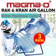 [Versi PELANGI] MAGMA-Q Rak dan Kran Air Gallon MG-8301 Biru/Hijau/Merah