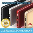 [Super Slim] 20000mAh Premium Ultra Slim Power Bank / Portable Powerbank Charger / For Samsung / Apple / Xiaomi / IPhone / Lenovo / HTC / ASUS / Zenfone