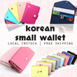 [Whuffle] Small Korean Travel Wallet/Assorted Bags/Korean/Taiwan Tote/Classic/Work Bag Premium Leather Quality/Luggage
