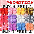 [WEDDING]Flower Rose Petals/ Artificial /Colorful(144pcs)Wedding/ Ceremony/Dinner/ROM/Birthday Party/Proposal/Paper Petals/Decorations/Decor/Aisle/Petals Throwing/Candy Table/Dessert/Garden Wedding