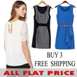 ★[ALL FLAT PRICE] ★ 2014 Korean Dress T-Shirts Blouse★