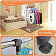 3 Deck Clothes Hanger/ Indoor Outdoor Clothes Drying Rack Adjustable/ Extendable Hang Dry hanging dry laundry
