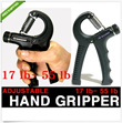 ★KOREA HIT★ Adjustable HAND GRIPPER 17~55 lb grip exerciser wrist strength training body workout weight lifting exercise