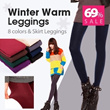 【HEE GRAND】FREE SHIPPING winter stockings /Pattern stockings/ winter leggings / fur lining WSD026