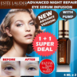 [NEW VERSION!][1 FOR 1!!] Estee Lauder NEW Advanced Night Repair Eye Serum Infusion II With PUMP(4ml x 2)With Free Gift