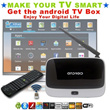 [Turn Your TV Smart]★ Free TV ★ Quad Core Google Android 4.2 Media Hub TV BOX MK808/MK809 III/CS918 Mini PC Smart Media Player(Better Than MiniX)