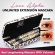 BEWARE FAKE *Authorized Sole Distributor* Authentic love alpha waterproof mascara for extension and fiber length lashes [100% Proven]