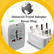 Universal Travel Adapter / AC power Adapter / AU UK US EU Plug / Universal Power Plug / By IDEAS FOR LIFE