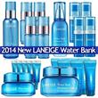 ★NEW★Miniature Super Value!2014 Water Bank Series Moisture Cream EX/Gel Cream EX /Water Bank Essence_EX/Water Sleeping pack EX/Moisture trial kit 4 items X 2SET