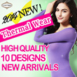 【Thermal inner】Ultra thin thermal inner to thick innerwear/Super warm/Perfecr for winter/Must have winter item/Napping winter thermal wear/