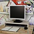 Wood Monitor Stand /monitor/shelf/computer/keyboard storage/pc/mouse/tv/