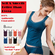 STOCK IN!!! SOFT AND SMOOTH [lovely shop] Sleeveless Bra Tops~Consider it your secret comfortable